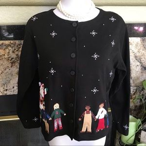Vintage BECHAMEL Petites Button up Cardigan/Top